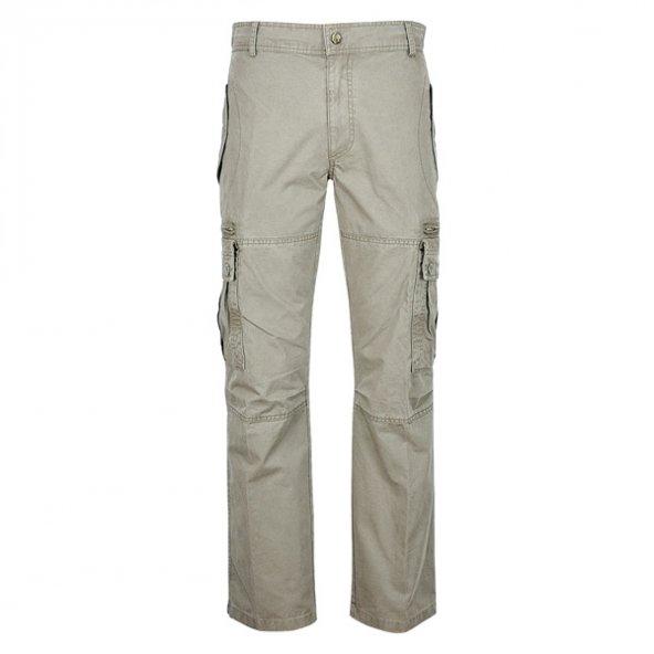 1006 Gri Safari Pantolon 54 Beden