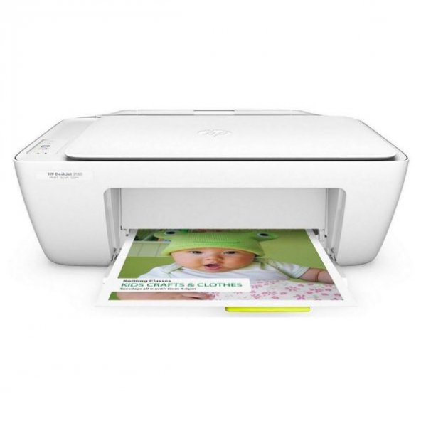 Hp Deskjet 2130 Renkli Yazıcı Tarayıcı Fotokopi