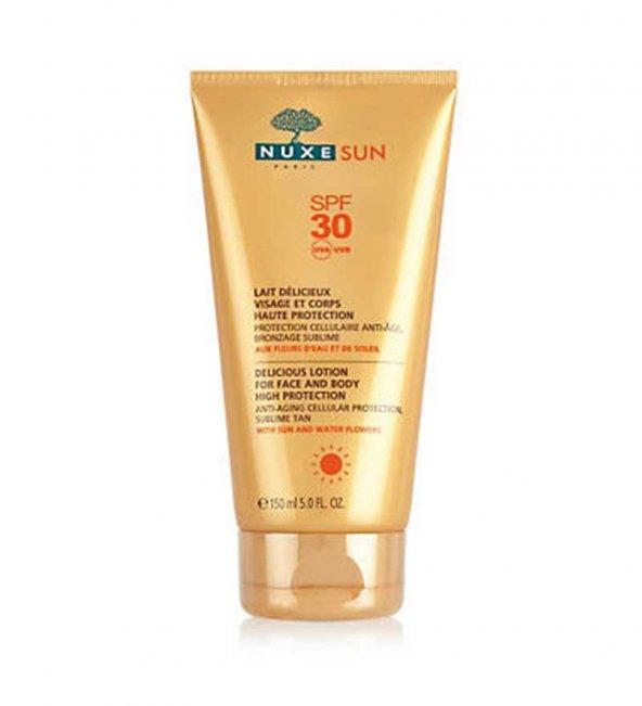 Nuxe Sun Lait Delicieux Protection Spf30 150 ml (Güneş Koruyucu Y