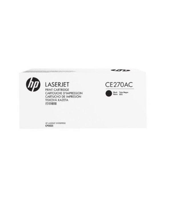 HP CE270AC Black Toner Kartuş (650A)