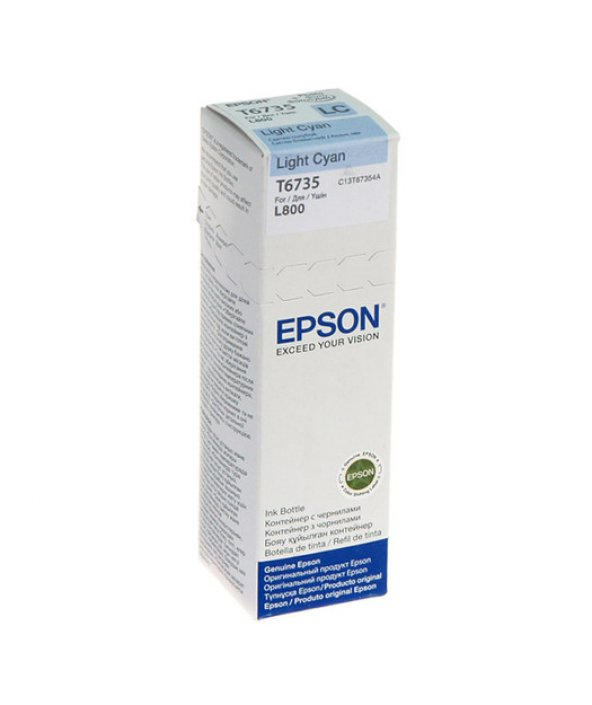 EPSON T6735 LIGHT CYAN IN CONTAINER 70ml