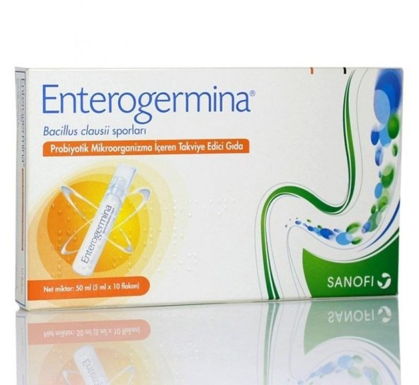 Enterogermina Yetişkin 5ml 10 Flakon