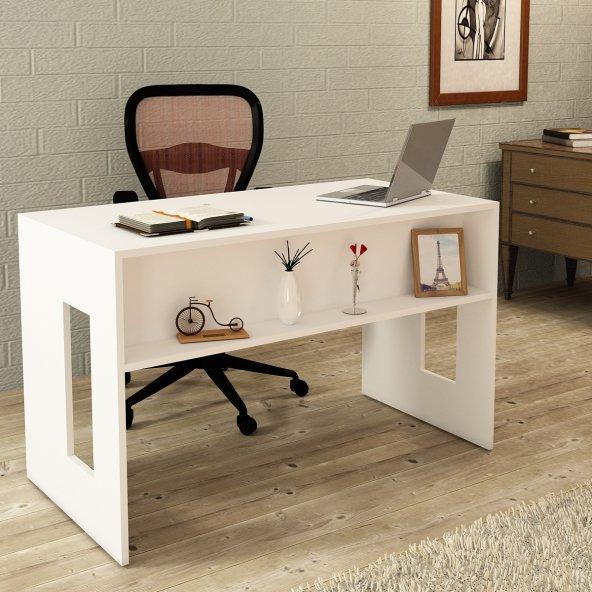 Kalender Dekro Carlina Çalışma Masası Beyaz
