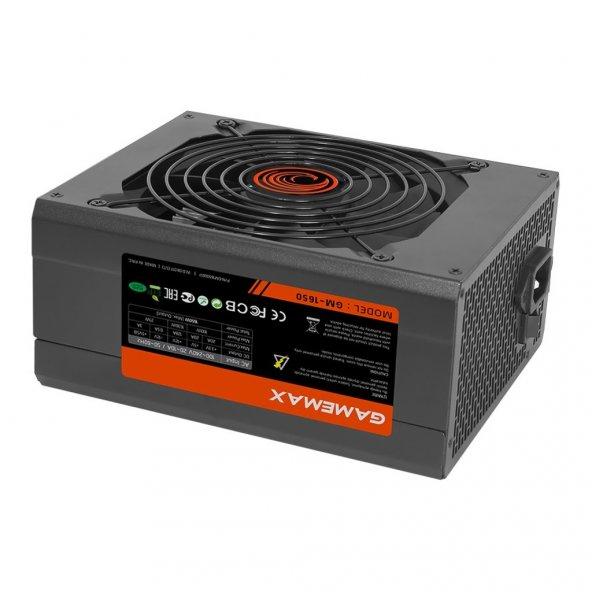 GAMEMAX GM-1650 80 Plus Sertifikalı 14cm Ultra Performans Fanlı 1650W Power Supply Güç Kaynağı PSU