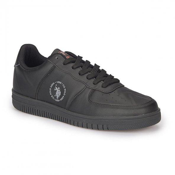 U.S. Polo Assn .Erkek Sneaker Ayakkabı 100281470 Dimler Siyah