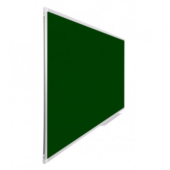 Vivekka 90x120 Duvara Monte Alüminyum Çerçeve Laminat Yeşil Tahta