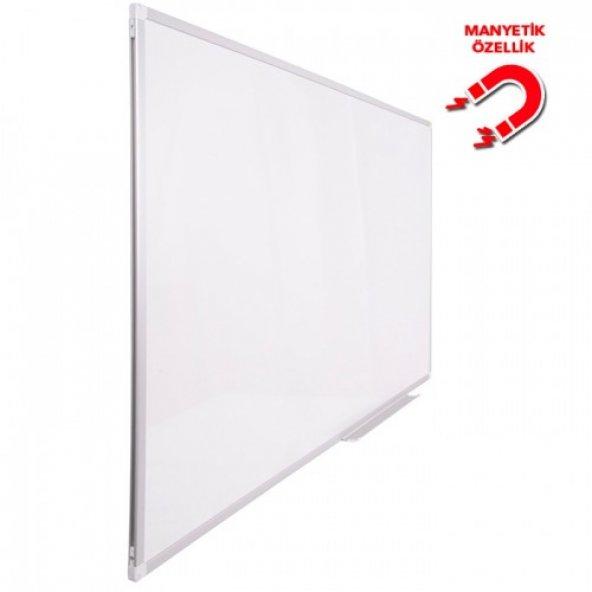 Vivekka 100x130 Duvara Monte Alüminyum Çerçeve Manyetik Beyaz Yazı Tahtası
