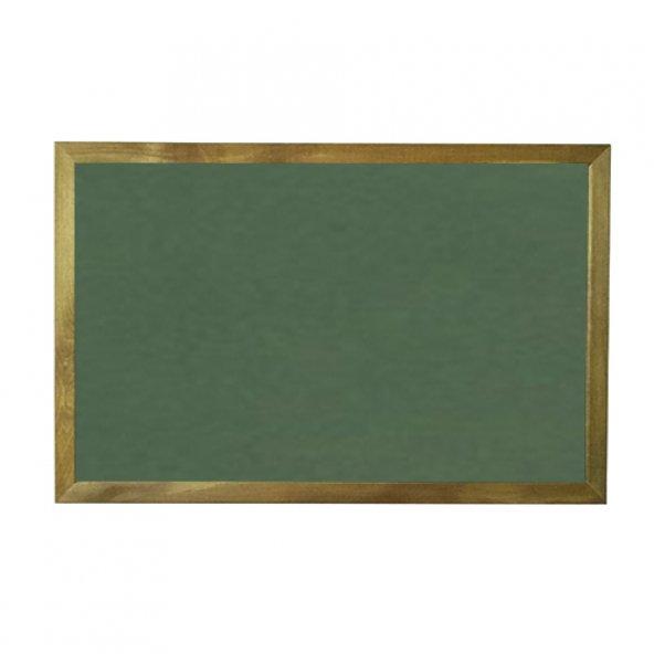 Vivekka 100x140 Duvara Monte Ahşap Çerçeve Laminat Yeşil Tahta