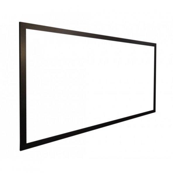 Vivekka 65X100 Duvara Monte MDF Çerçeve Laminat Beyaz Yazı Tahtası