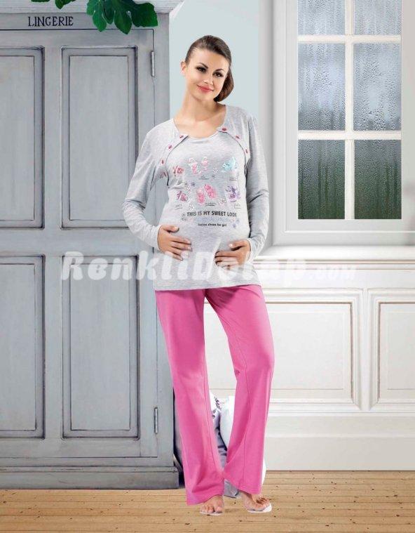 Ş. Gümüş Pijama Tk. (XL-XXL BEDEN)