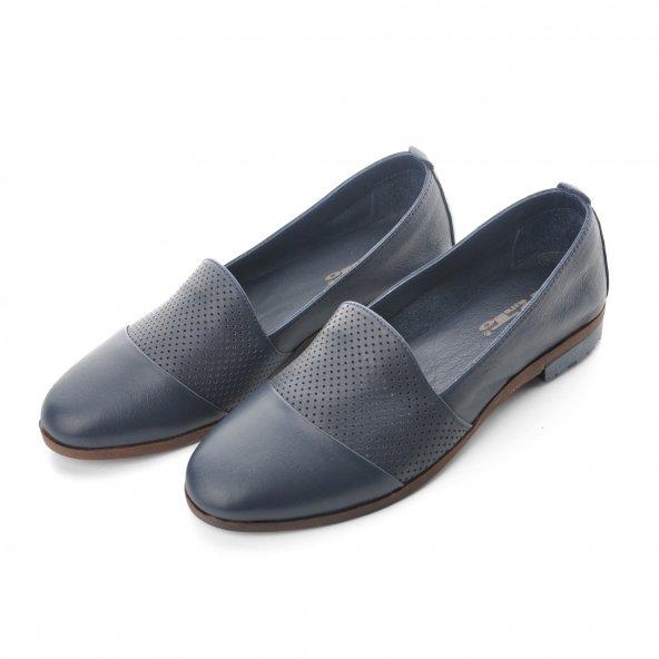 Punto  Lacivert - Sarı  (545766) Bayan Günlük Ayakkabı