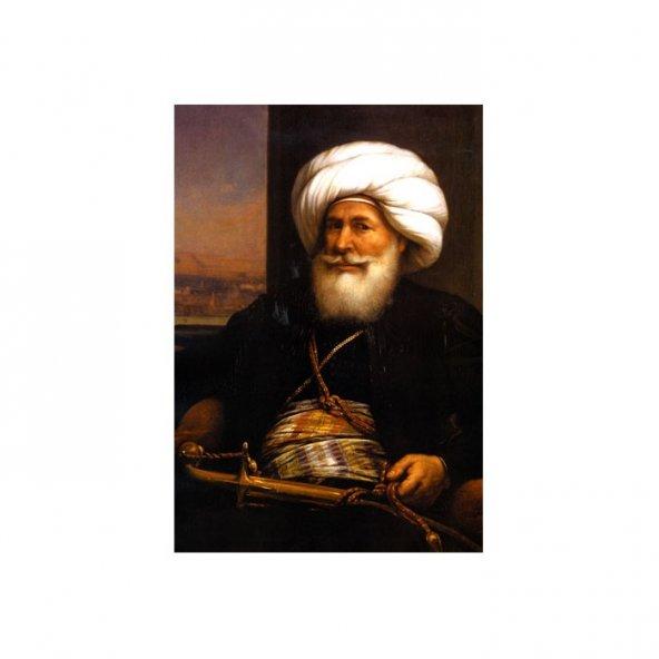 Kavalalı Mehmet Ali Paşa Kanvas Tablo 60X90 Cm
