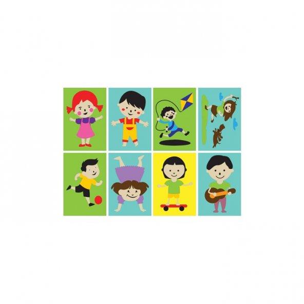 Neşeli Çocuklar TB-006 16,5x23 cm