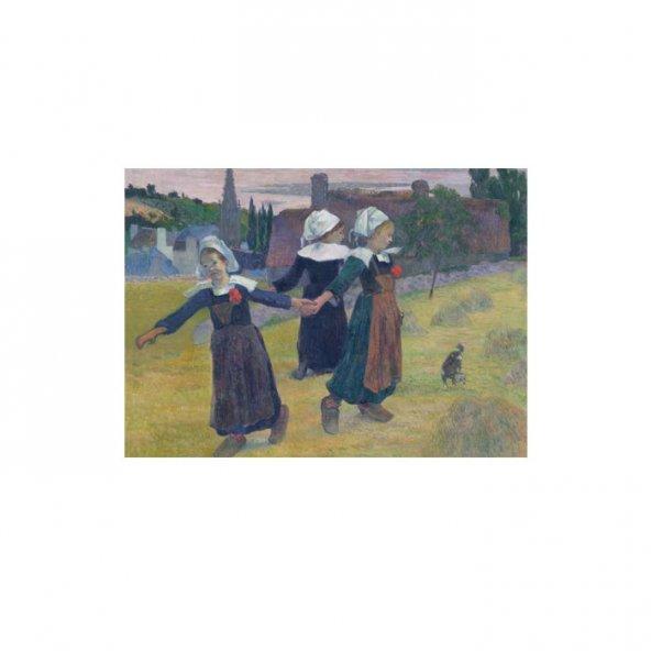 Breton Girls Dancing, Pont-Aven 50x70 cm