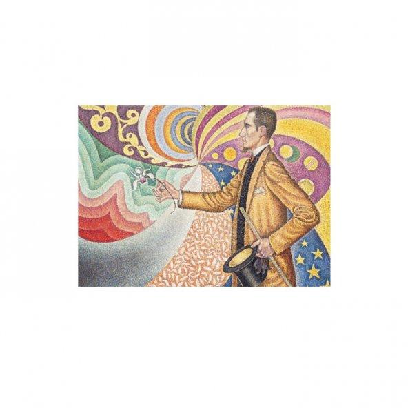 Paul Signac-Against the Enamel of a Background Rhythmic  50x7o Kanvas