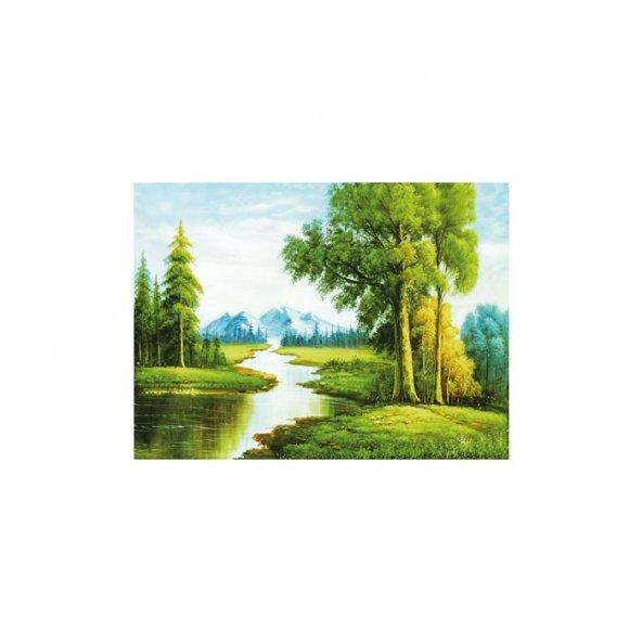 Sensuous Chill Kanvas Tablo 50x70 cm