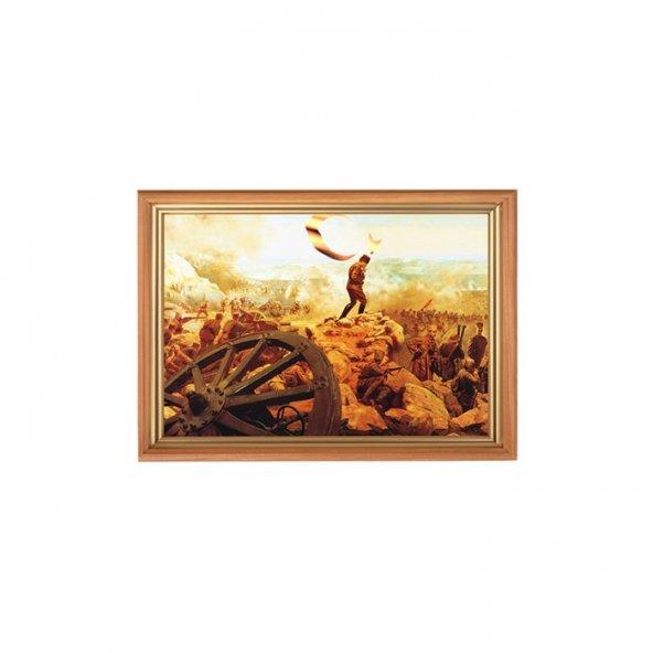 Atatürk-15 Kanvas Tablo 50X70 Cm