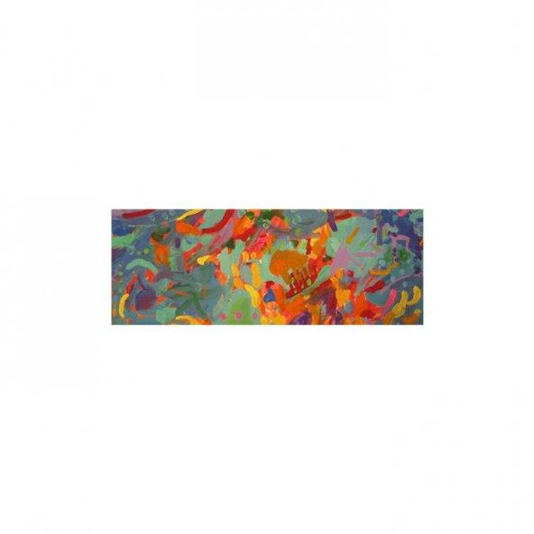 Dance of Colours Kanvas Tablo 40X120 Cm