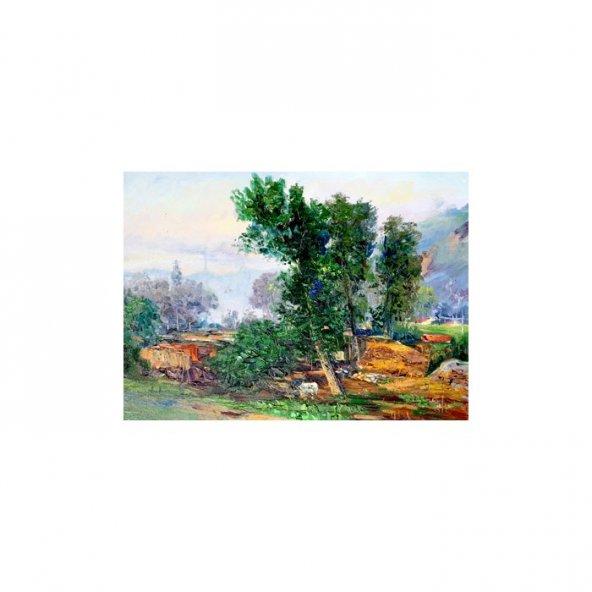 Fram Daniel Kanvas Tablo 50X70 Cm