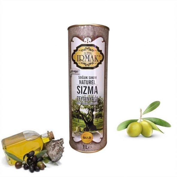 altın ırmak soğuk pres naturel sızma zeytinyağı (1lt)