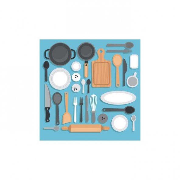 Mutfak Gereçleri-2 Bulaşık Makinesi Sticker