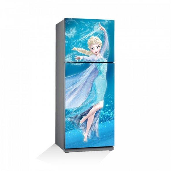 Frozen-4 Buzdolabı Sticker