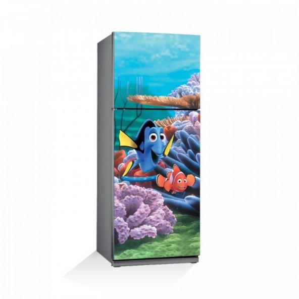 Kayıp Balık Nemo-1 Buzdolabı Sticker
