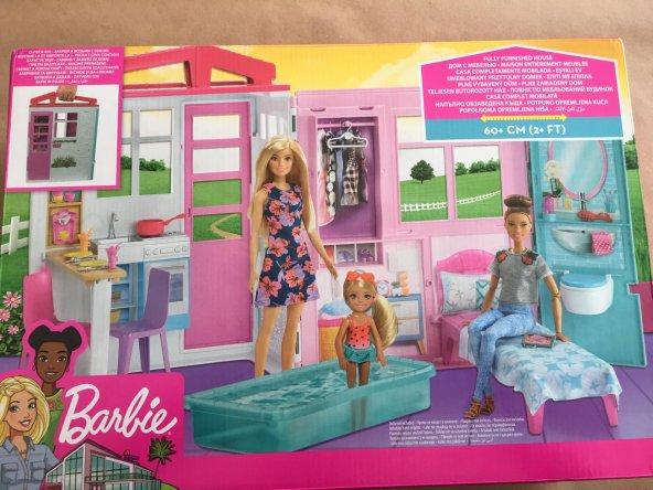 Barbie Portatif Ev