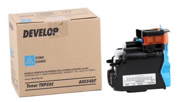 Develop TNP-50 Orjinal Mavi Toner +3100P (A0X54D7) (5000 Sayfa)