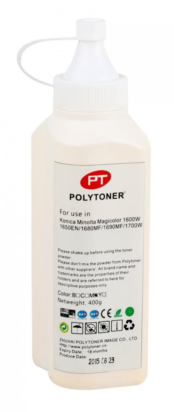 Epson&Minolta Poly Dolum Toner Tozu Kırmızı Universal (500GR)