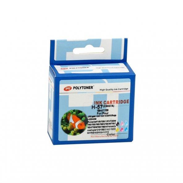 HP C6657A (NR57) Smart Renkli Kartuş (2110-2210-4255-4110-5510)