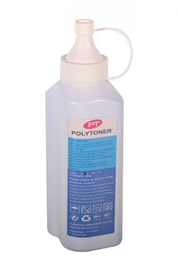 Hp Poly Dolum Tozu Kırmızı CP1215-1415 CP1025 Pro200-CB540-CE320(