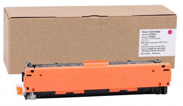 47027-HP CE323A-CB543A Katun Kırmızı Toner CM1415fnw-128A-LBP5050