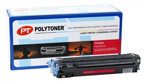 HP Q6003A (124A) Polytoner Kırmızı Laserjet 1600-2600-CM1015 mfp-