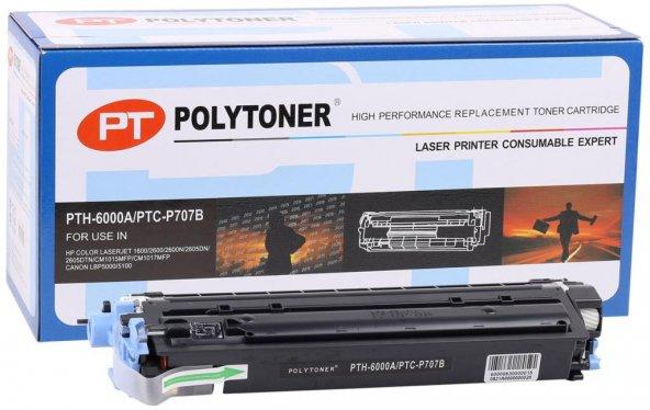 HP Q6000A (124A) Polytoner Siyah Laserjet 1600-2600 CM1015-1017mf