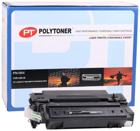 HP Q7551X Polytoner M3035MFP-P3005-M3027MFP