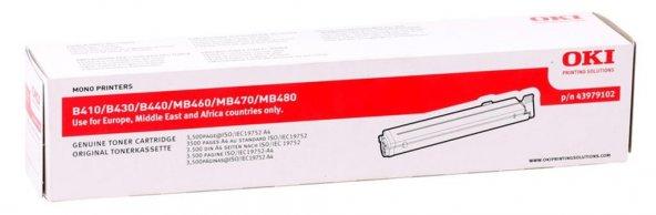 Oki B410 Orjinal Toner (B430-B440-MB470) (43979102) (3.500 Sayfa)