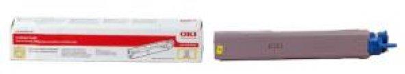 Oki Toner Sarı C3300-3400-3450-3600(43459345)(2500 Sayfa)