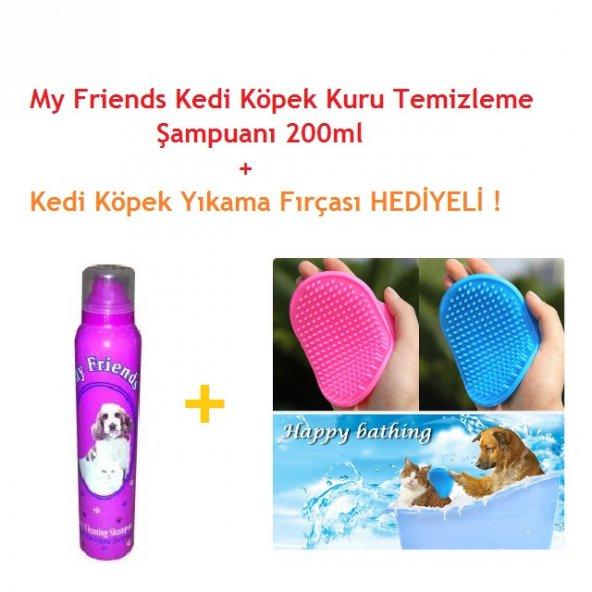 My Friend Kedi Köpek Kuru Temizleme Şampuanı 200ml + HEDİYELİ