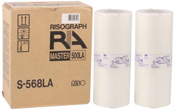 Riso (S-568LA) Orjinal A4 Master RA-4050-4200-4300-4900 RC-4000-4