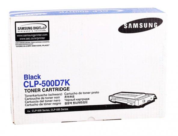 Samsung CLP-500D7K/CLP-500D7K Orjinal  Siyah Toner (7k)