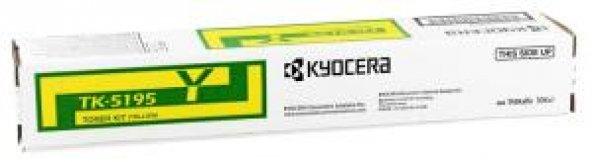 Kyocera Mita TK-5195 Orjinal Sarı Toner 306ci-CS306ci (7K)