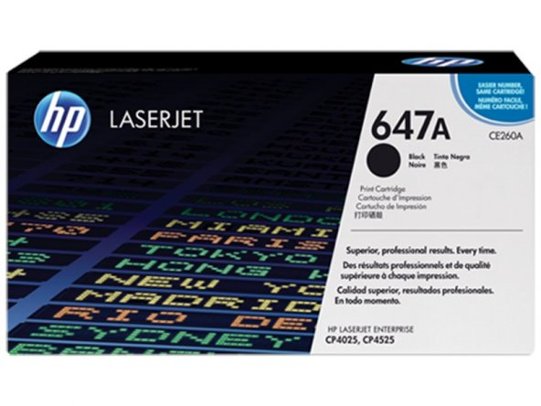 HP CE260A (647A) Orjinal Siyah Toner