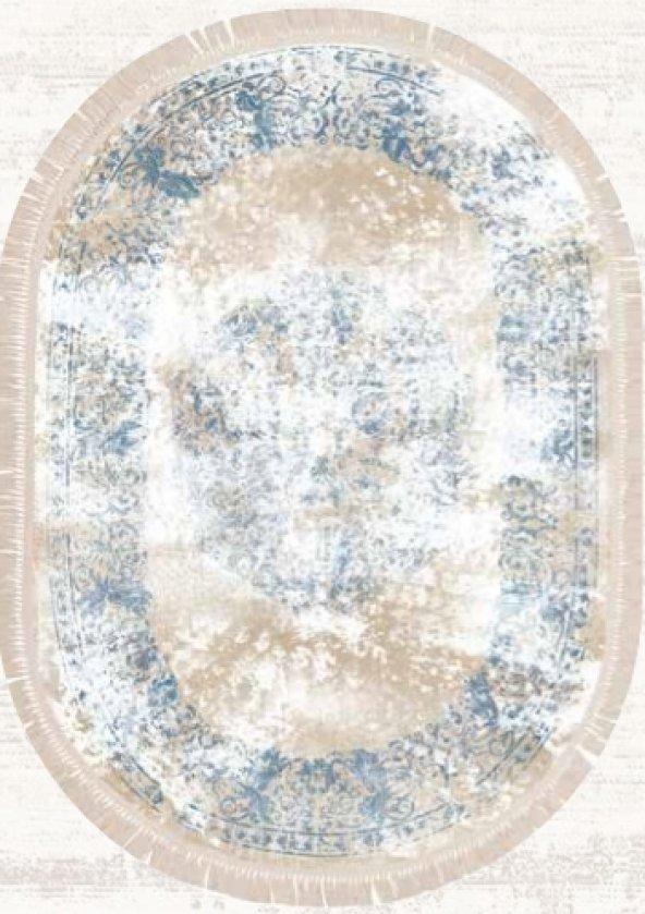 Brillant Latex Halı İpek Oval 130x190 HLE11324.802 (PÜSKÜLLÜ)