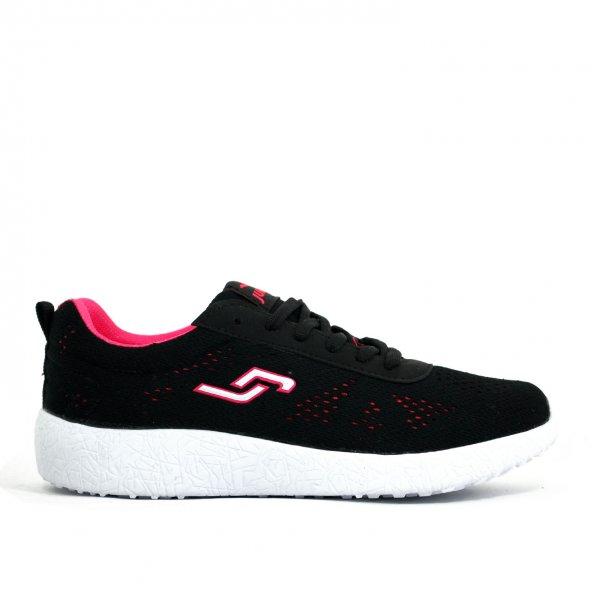 Jump Kadın Günlük Spor Ayakkabı-Siyah-16312-01