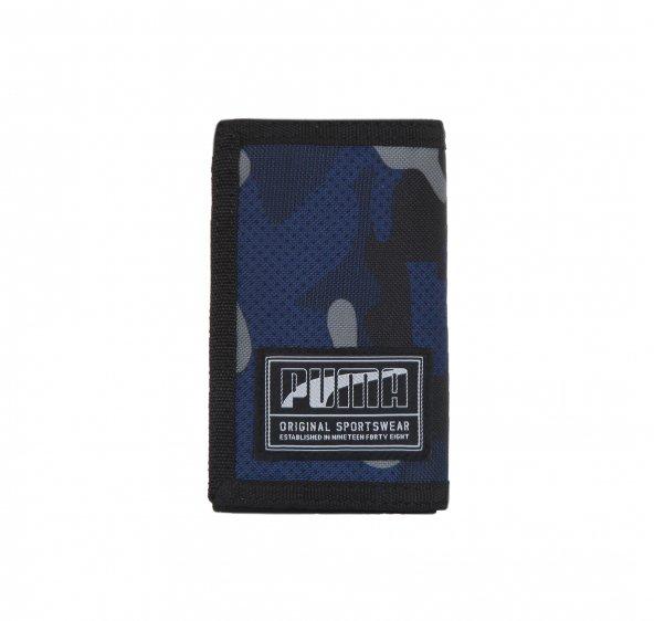 Puma Academy Wallet Unisex Cüzdan Mavi