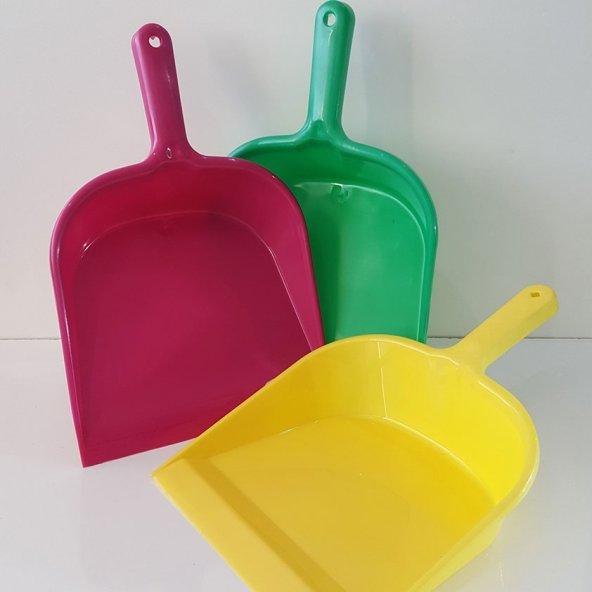 Plastik Faraş Renkli Kürek Toz Alıcı