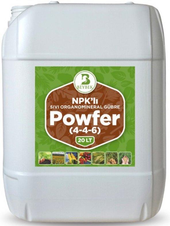 20 Litre Beybek Powfer Sıvı Organomineral Gübre
