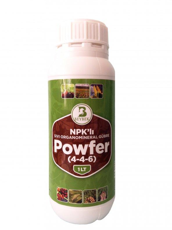 1 Litre Beybek Powfer Sıvı Organomineral Bitki Besini Gübre