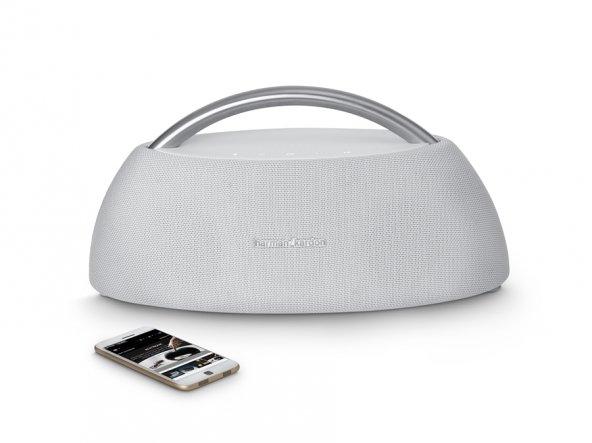 Harman Kardon Go + Play Mini Portable Bluetooth Speaker White